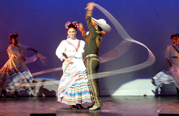 Dancers at the Ballet Folklorico